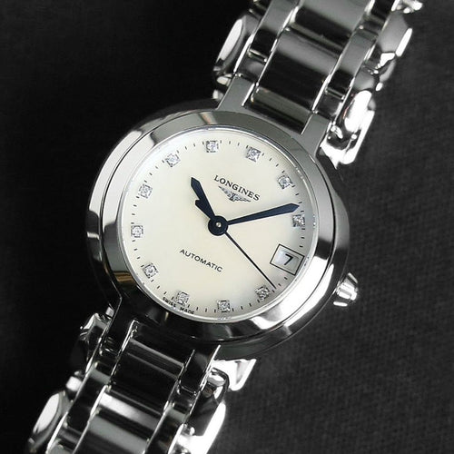 Longines PrimaLuna Stainless Steel Ladies Watch 26.50mm L8.111.4.87.6