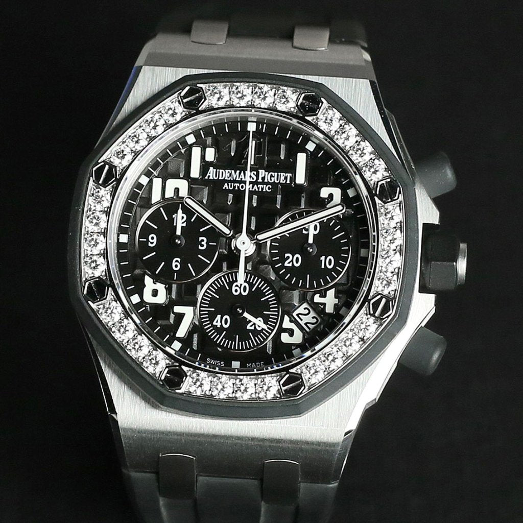 Audemars Piguet Ladies Royal Oak Offshore Chronograph 37mm 26048SK.ZZ.D002CA.01 (Out of Production)