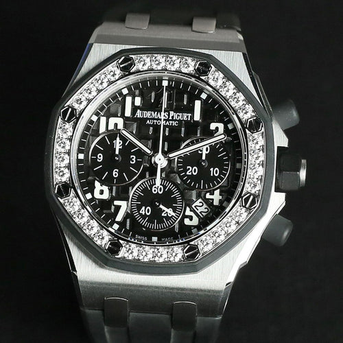 [Brand New Watch] Audemars Piguet Ladies Royal Oak Offshore Chronograph 37mm 26048SK.ZZ.D002CA.01 (Out of Production)