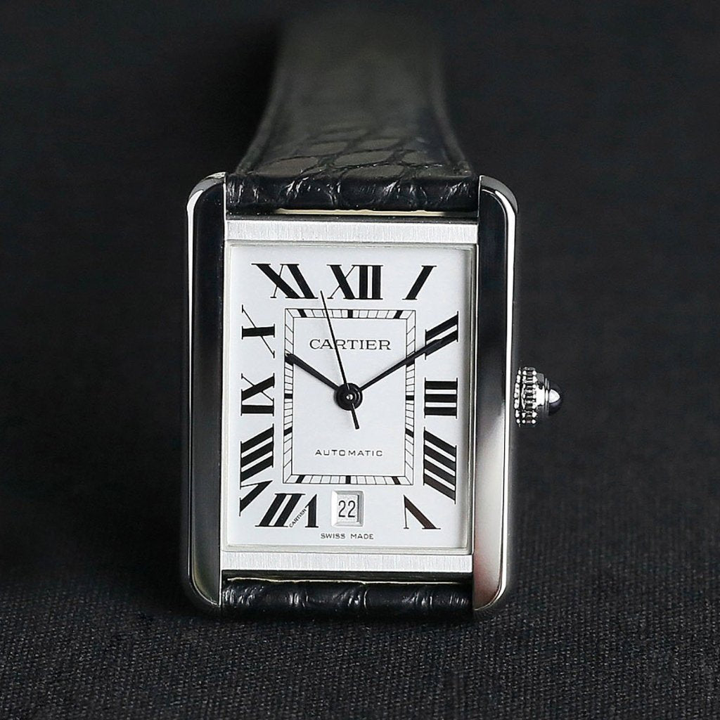 [Brand New Watch] Cartier Tank Solo Watch Extra Large Model 31mm W5200027