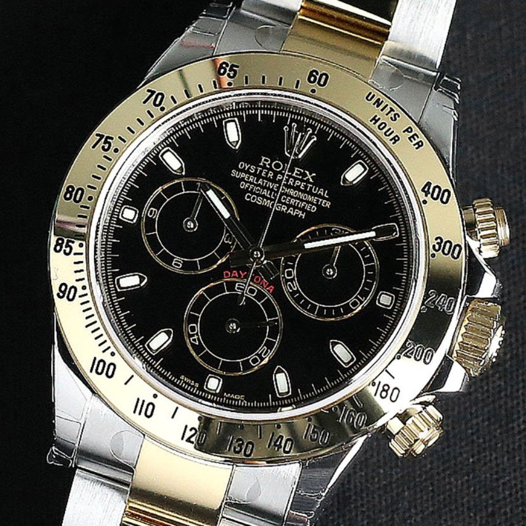 Rolex Cosmograph Daytona 40mm 116523 Black Dial (Out of Production)