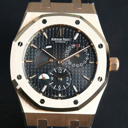 [Brand New Watch] Audemars Piguet Royal Oak Dual Time 39mm 26120OR.OO.D002CR.01 (Out of Production)