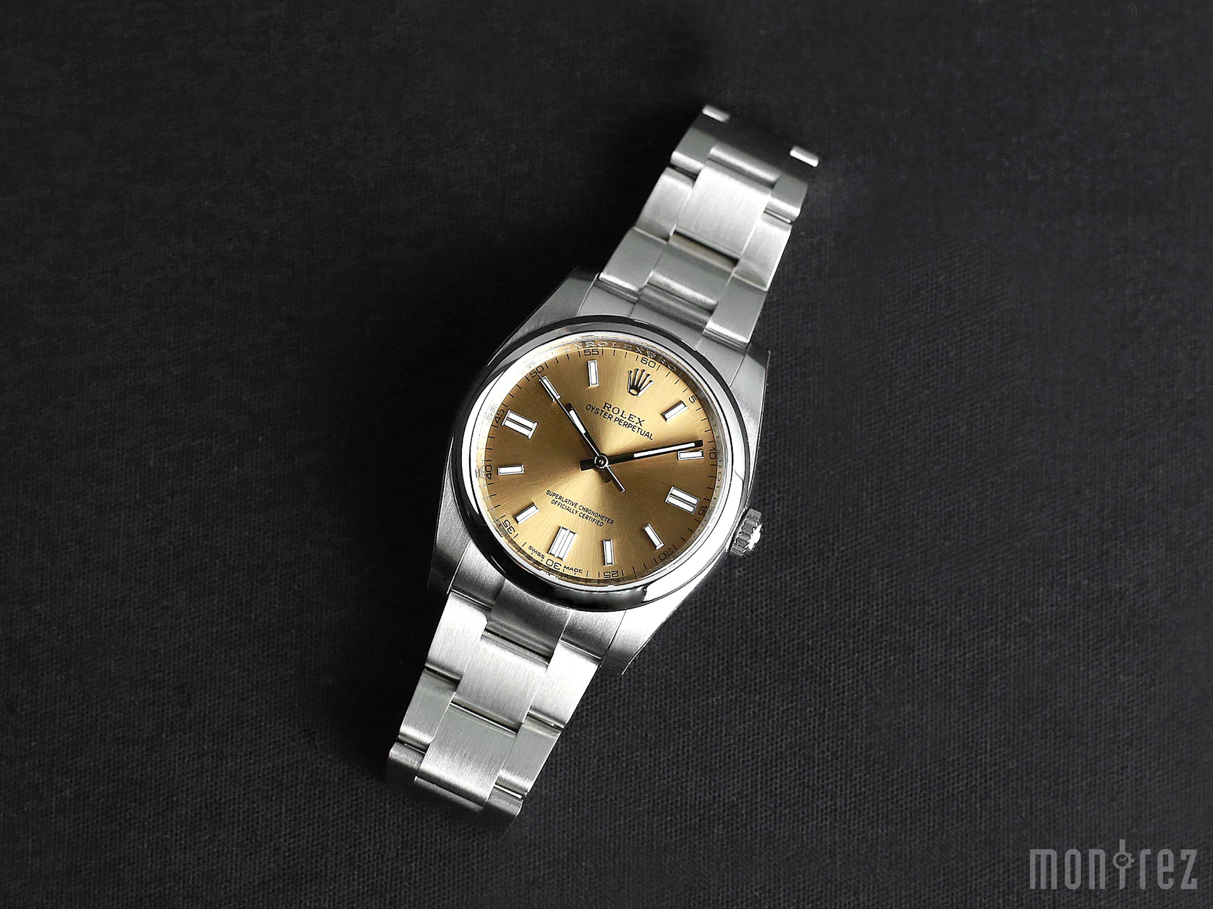 Rolex Oyster Perpetual 36mm 116000 Champagne Dial
