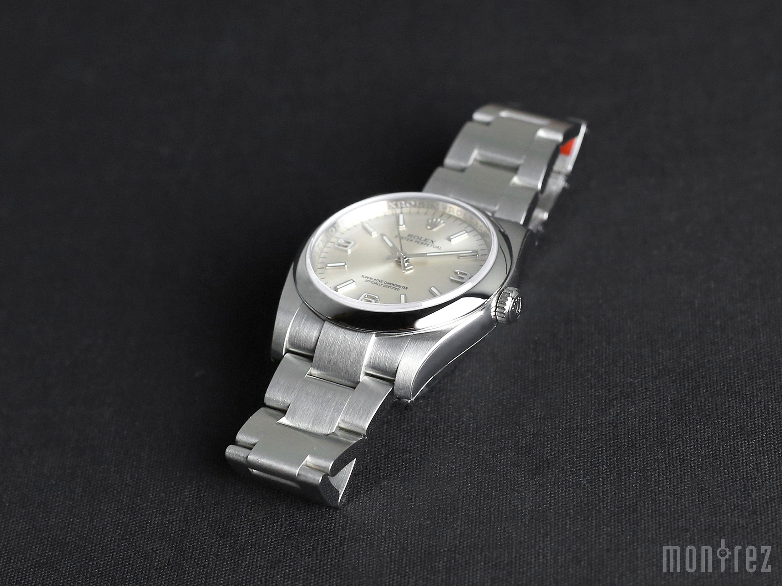 Rolex Oyster Perpetual 36mm 116000 Silver 369 Dial