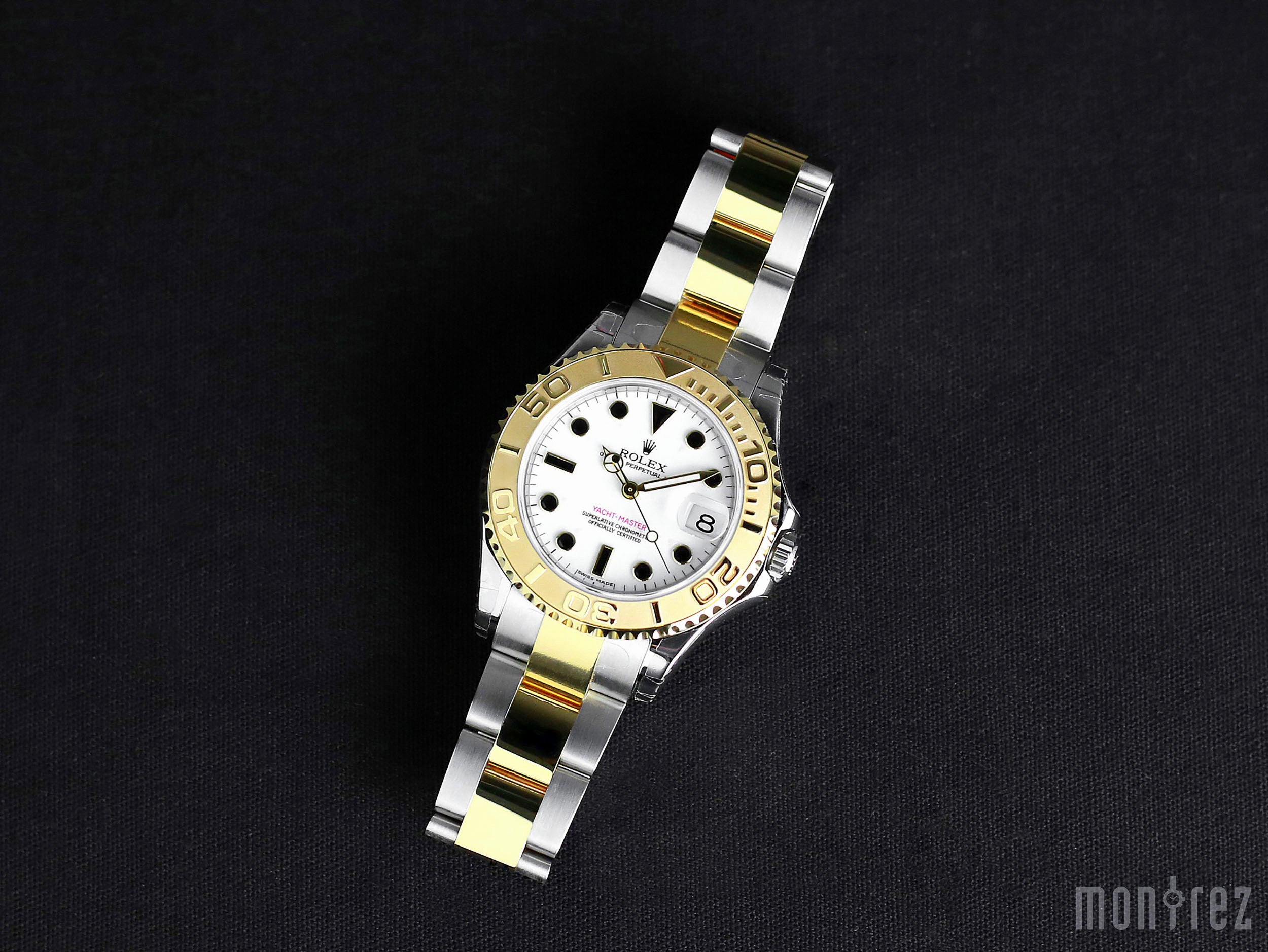 Rolex Yacht-Master 35mm 168623 White Dial (Out of Production)