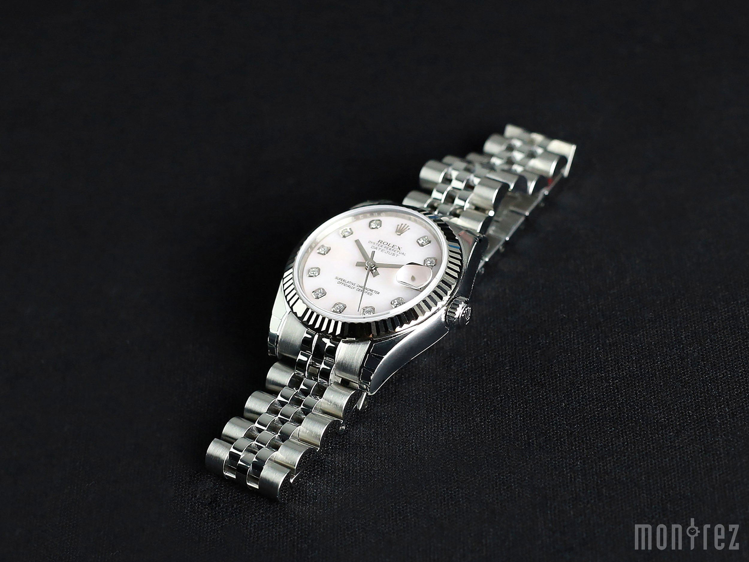 Rolex Datejust Lady 31mm 178274 Pink Mother-of-Pearl Dial with Diamonds (Jubilee Bracelet)