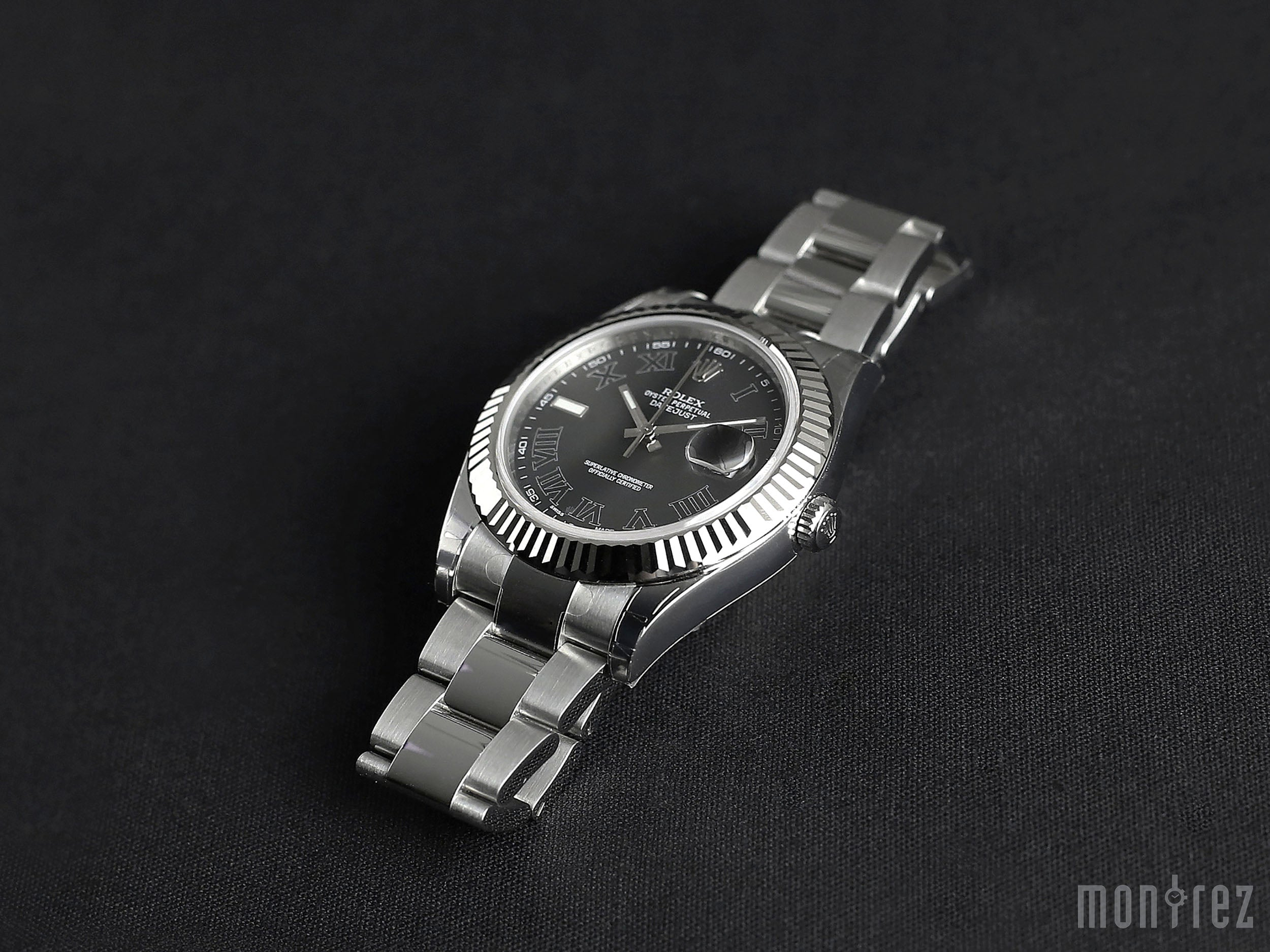 Rolex Datejust II 41mm 116334 Black Roman Dial (Out of Production)