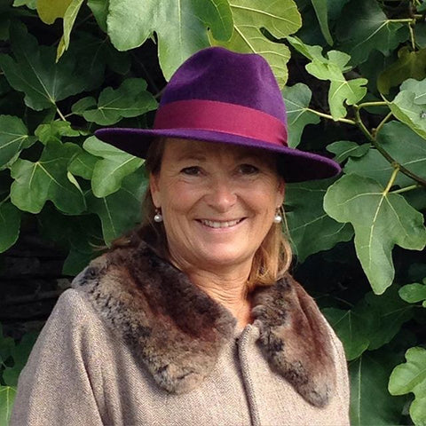 Maya Purple | Kate Braithwaite Millinery