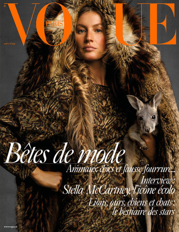 Vogue Paris X Gisele X Kate Braithwaite Millinery