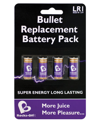 Rocks-off N Size Battery - Pack Of 4