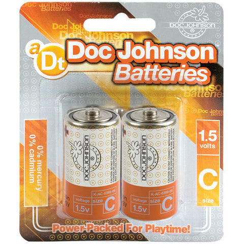 Doc Johnson Batteries - C 2 Pack