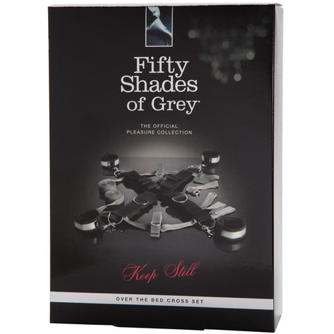 Fifty Shade Of Grey Keep Still Over The Bed Cross Restraint