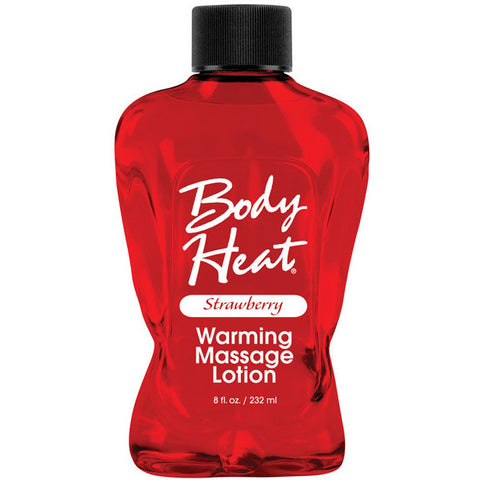 Body Heat Lotion - 8 Oz Strawberry