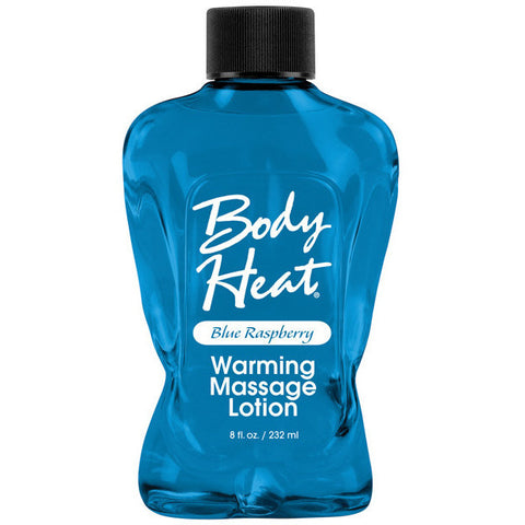 Body Heat Lotion - 8 Oz Raspberry