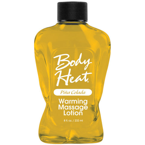 Body Heat Lotion - 8 Oz Pina Colada