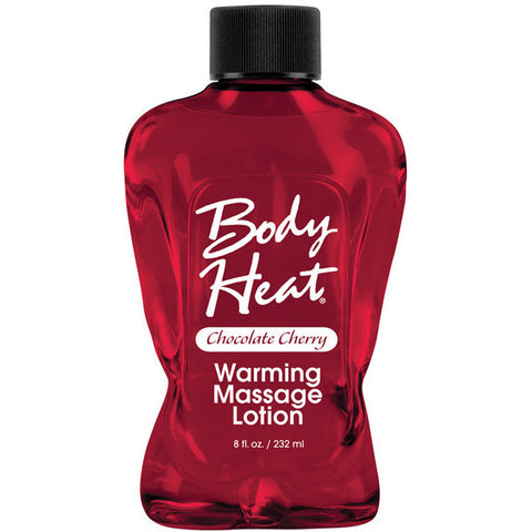 Body Heat Lotion - 8 Oz Chocolate Cherry