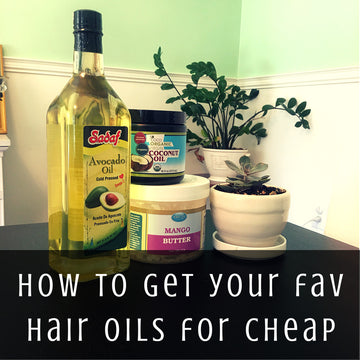 How to Find Your Favorite Hair Oils for Cheap