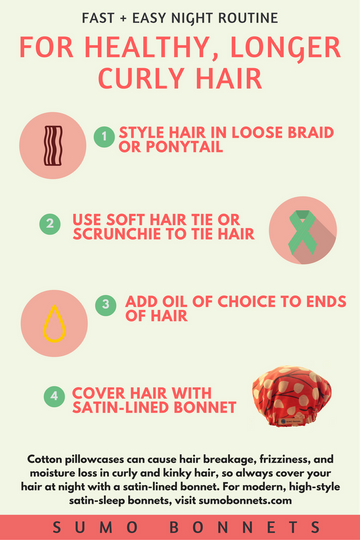 4 Steps For Long, Healthy Curly Hair