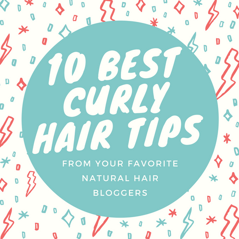 10 Best Curly Hair Tips From Bloggers