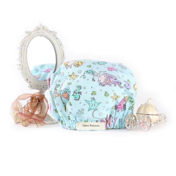 'Arya' Child Satin Bonnet