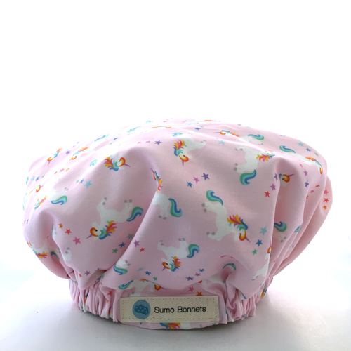 'Mia' Child Satin Sleep Bonnet
