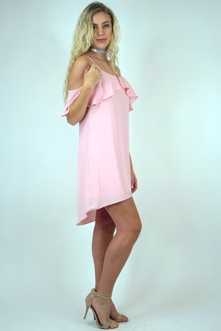 Make Me Blush Shift Dress