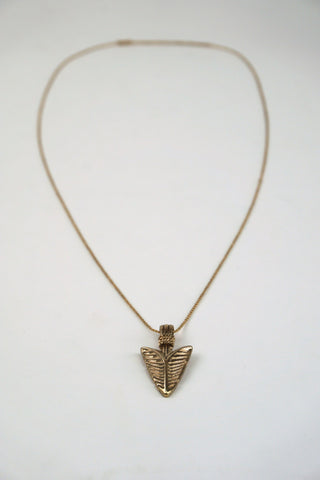 Ingrid Boho Chic Arrowhead Pendant Necklace