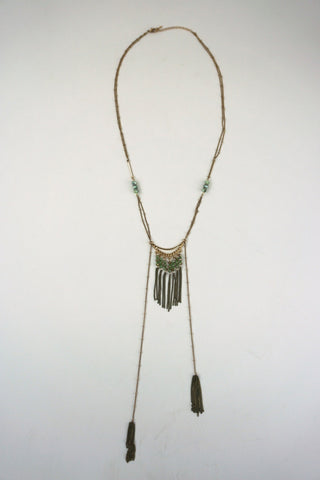 Dayana Glass Beaded Necklace