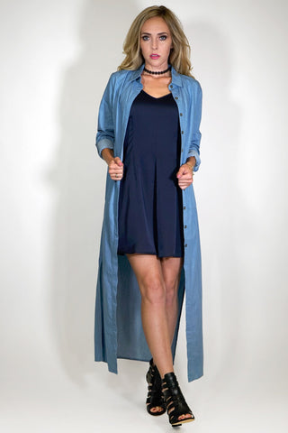 Courtney Denim Duster