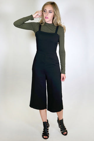 Back Grommet Lace Up Jumpsuit
