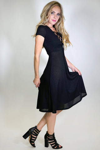Desirae Rib Kit Dress