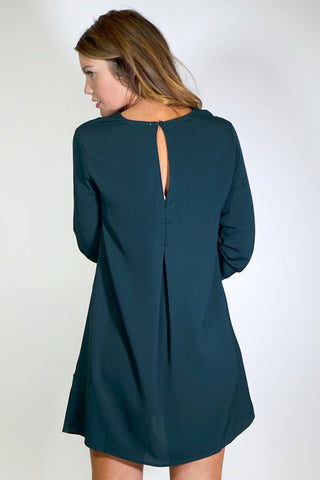 On The Hunt For Green Shift Dress