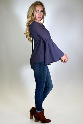 Iris Bell Sleeve Top