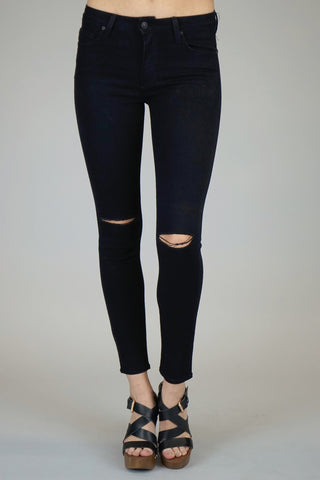 Just Black Ripped Black Skinny