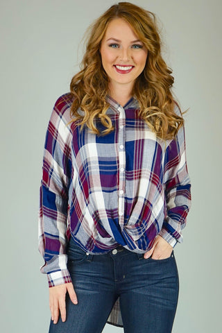 Dorothy Plaid Shirt