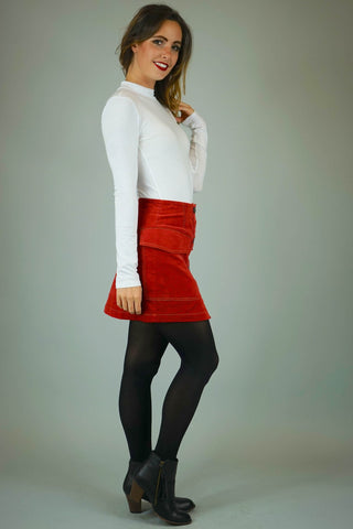 Lisette A Line Mini Skirt