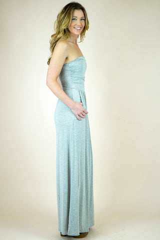 Joslyn Strapless Maxi Dress