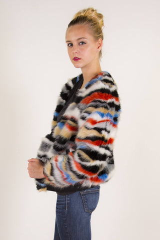 Karlee Faux Fur Jacket