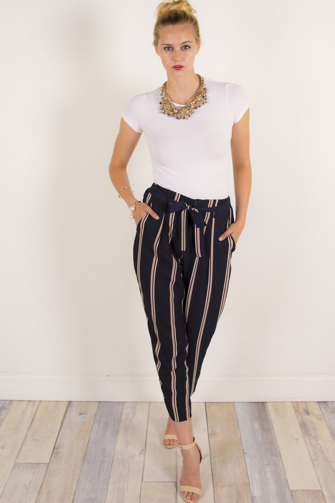 Lauryn Zio Stripe Trouser
