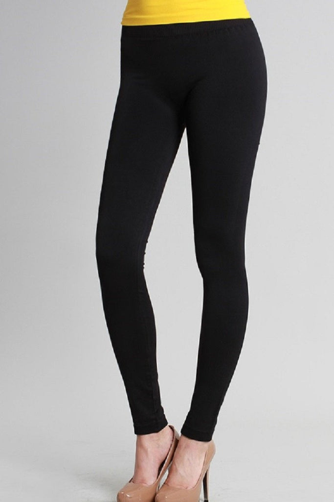 Ankle Length Black Leggings