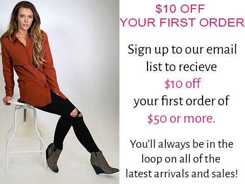 %10 off your first order