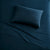 Brielle Home Cotton Jersey Sheet Set Solid  Navy
