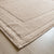 Brielle Emery Bath Mat Light Grey Close up