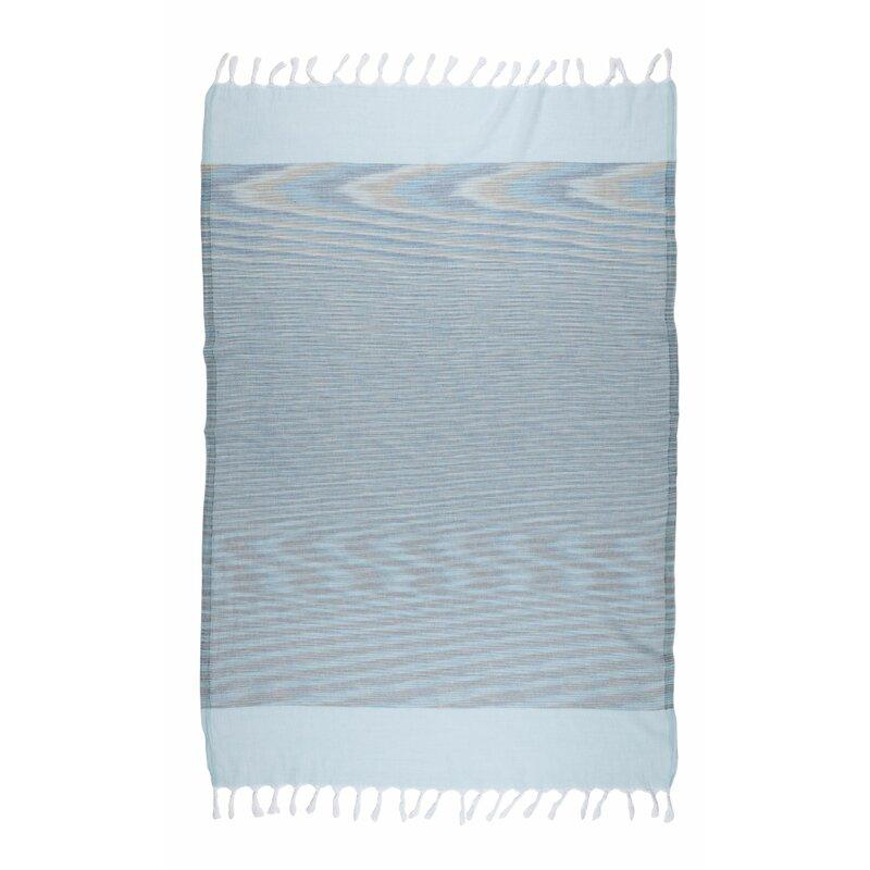 Brielle Home Fashion Marble 100% Cotton Turkish Peshtemal Towels