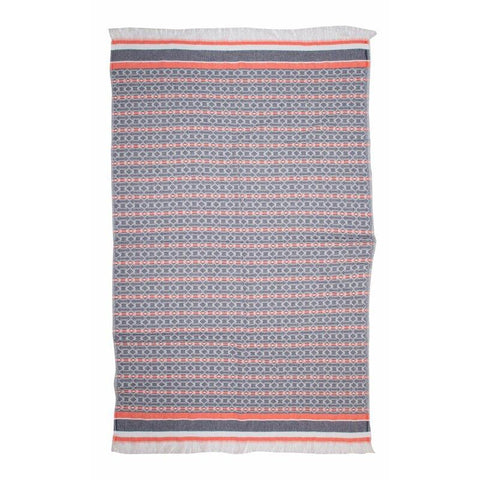 Brielle Home Fashion Sailor 100% Cotton Turkish Peshtemal Towels