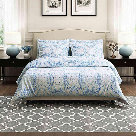 Brielle Ibiza 100% Cotton Duvet Cover Set