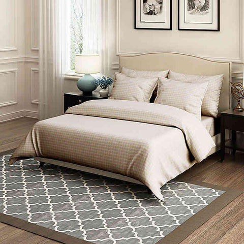 Brielle Home Scales 100% Cotton Duvet Cover Set