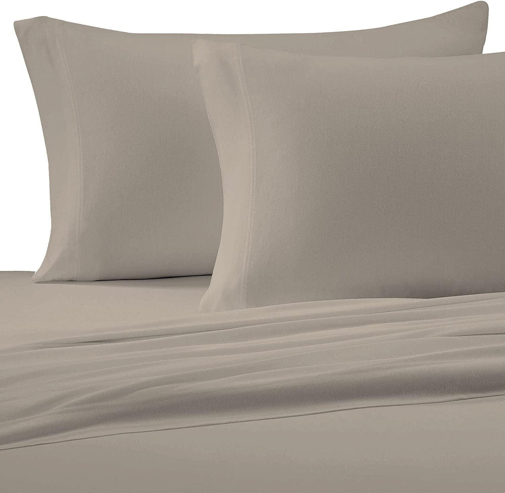 Brielle Home Cotton Jersey Sheet Set Linen