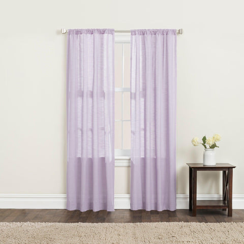 Brielle Home Clarke Window Curtains Lilac