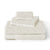 Brielle Home Jacquard Towel Set Ivory